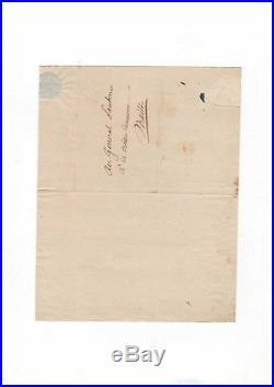 Lazowski / Santerre / Documents Signés / Révolution / Robespierre