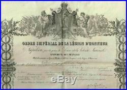 Le Brevet De Chevalier De La Legion D'honneur D'eugene Labiche