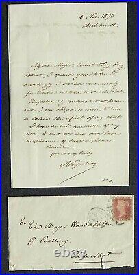 Le Prince Impérial NAPOLEON IV autographe