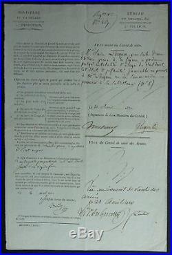 Le célèbre médecin de Napoléon Nicolas DESGENETTES autographe