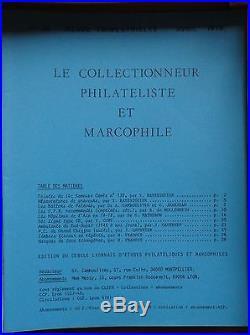 Le collectionneur philatéliste et marcophile, lot de 150 revues, bulletins