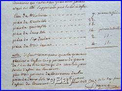 Le graveur général des Monnaies, Augustin Dupré, dresse la liste des poinçons