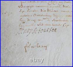 Le prince Henri II de Condé reçoit des subsides de la généralité de Bourges