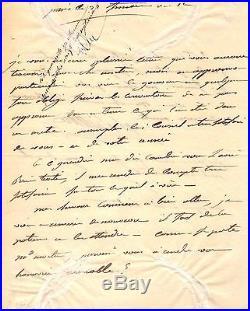 Lettre Autographe Du Marechal Berthier (invasion De L'angleterre / 1803)