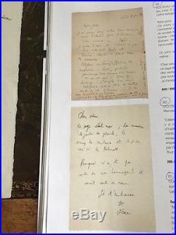 Lettre Autographe Jean Cocteau A Leon-paul Fargue 1918
