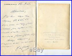 Lettre Correspondance Autographe du Général CHARLES DE GAULLE du 12 Sept 1963