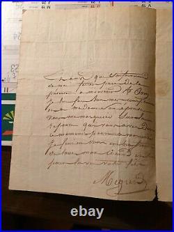 Lettre De Cantiniere Garde Imperiale Belle Vignette Paris 1814