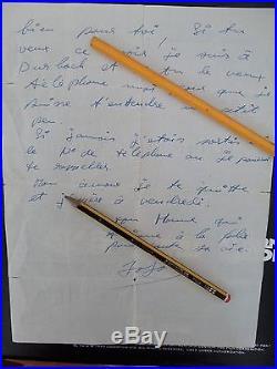 Lettre De Johnny Hallyday A Sylvie Vartan 1964