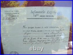 Lettre Infanterie Légère 14 ème Demie Brigade Armée Nord 12 Brumaire An 4