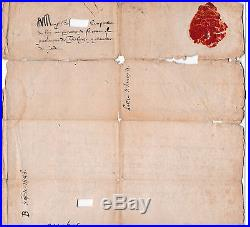 Lettre autographe Henry de Navarre La Rochelle 1586 8e Guerre de Religion