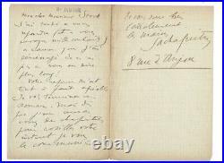 Lettre autographe de Sacha GUITRY à l'éditeur STOCK sur l'avance de son roman
