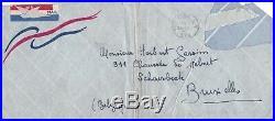 Lettre autographe signée Edith Piaf à son frère Herbert New-York 1948 signed
