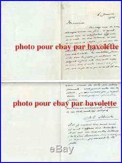 Lettre autographe signée Jacques Emile Blanche, 1916