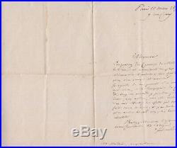 Lettre autographe signée de Ferdinand de LESSEPS relative au Canal du Midi 1870