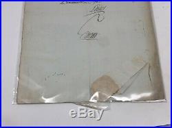 Lettre du Roi Louis XVI 1782 Souvenir Historique Blondel de Neron Correspondance