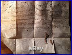 Lettres Patentes Naturalité- Marquis Deyotalleny-Rimini-Louis XIV-1655-Italie