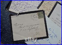 Lettres de Serge Lenz dit le Gentilhomme Cambrioleur (Arsène Lupin)