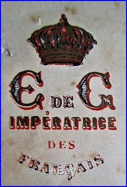 Limpératrice Eugénie Exceptionnelle Lettre Datée Et Signée Du 4 Septembre 1870