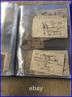 Lot 120 Lettres anciennes année 1800