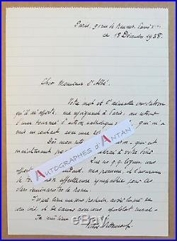 Lot 2 L. A. S Victor BETTENCOURT maire Saint-Maurice d'Ételan Meyers lettres