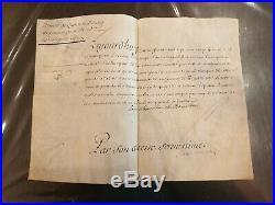 Louis Alexandre De Bourbon Brevet De Pension 4000 Livres Marquise D'o 1728