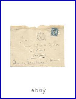 Louis PASTEUR / Lettre autographe signée / Maladie du Charbon / Vaccination