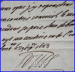 Louis XIV pleure la mort de son épouse, la reine Marie-Thérèse d'Autriche