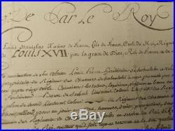 Louis XVII (1785-1795)/Louis XVIII (1756-1824), Rois de France, autographe