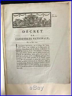 Louis XVI / Marie-antoinette / Fuite Varennes / Manuscrit (1791) / Arrestation