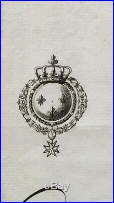Louis XVI Passeport 1776