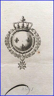 Louis XVI Passeport 1777