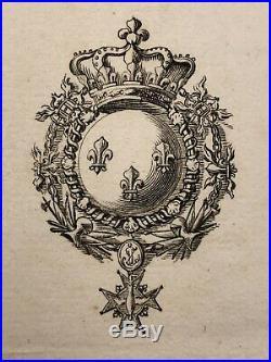 Louis XVI Passeport 1779
