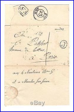 Lucien Bonaparte / Lettre Autographe (1803) / Palissot