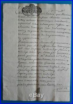 Lyon Dombes Chanzieu noblesse famille Bollioud lot documents 17e/18e
