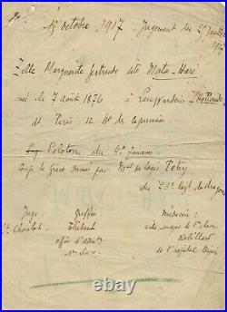MATA HARI danseuse et courtisane néerlandaise (1876-1917)