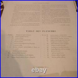 MODELES DE LETTRES La bibliothèque du peintre en bâtiment 24 planches N. GLAISE