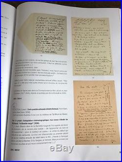 Manuscrit Autographe Jean Cocteau