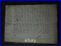 Manuscrit Auvergne Saint Flour 1541 Antoine De Monclar