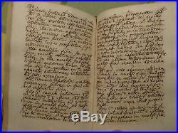 Manuscrit, Severac, Theologia Dogmatica et Scholastica, 1719