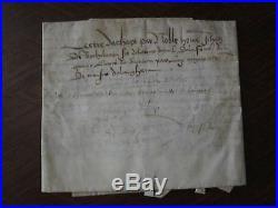 Manuscrit Sur Velin Riom Auvergne 1516