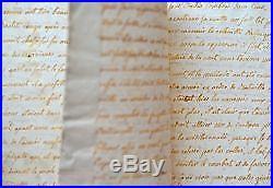 Manuscrit d'un journal pendant le siège de Gibraltar