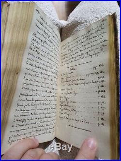 Manuscrit, exploration France minéralogie, géologie, volcanologie XIXème