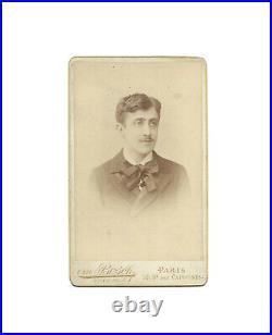 Marcel PROUST / Photographie originale 1891 / Rarissime portrait de jeunesse