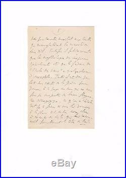 Marcel Proust / Lettre Autographe Signée (juin 1909) / Art Du Calembour /