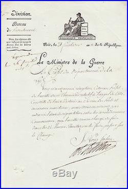 Maréchal BERTHIER autographe #10