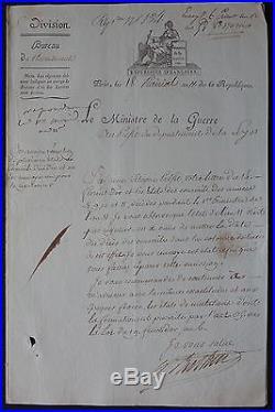 Maréchal BERTHIER autographe #3