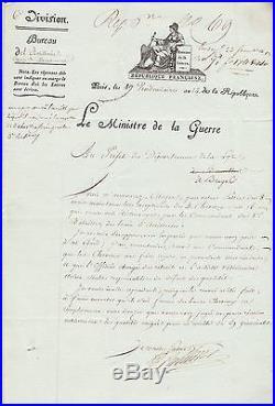 Maréchal BERTHIER autographe #7