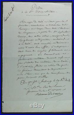 Maréchal KELLERMANN autographe 1814