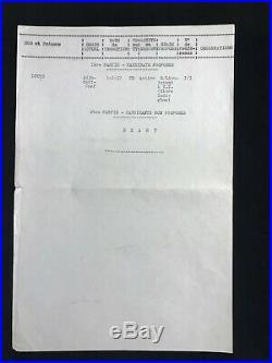 Marechal Leclerc / Document Signé (1941) / Guerre 39-45 / (de Gaulle) / Indigène