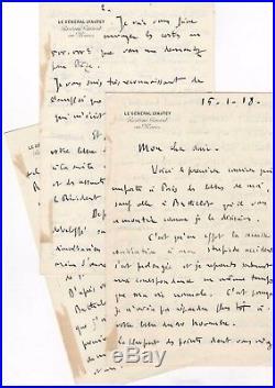 Marechal Lyautey / Longue Lettre Autographe / Situation Marocaine / Clemenceau